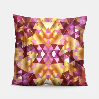 Thumbnail image of Beautiful Geometric Pillow, Live Heroes