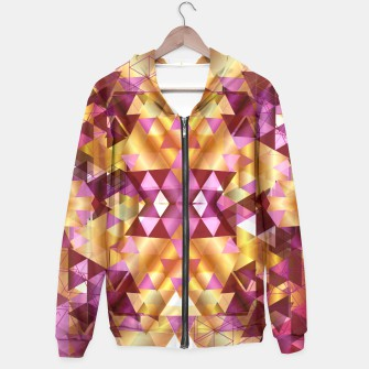 Thumbnail image of Beautiful Geometric Hoodie, Live Heroes