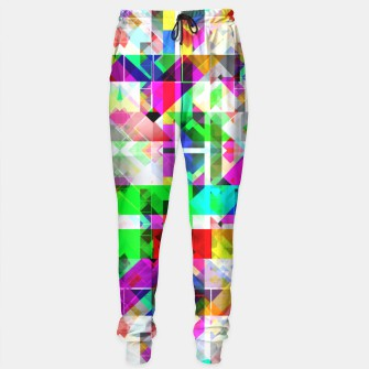 Thumbnail image of TV Test Screen Sweatpants, Live Heroes