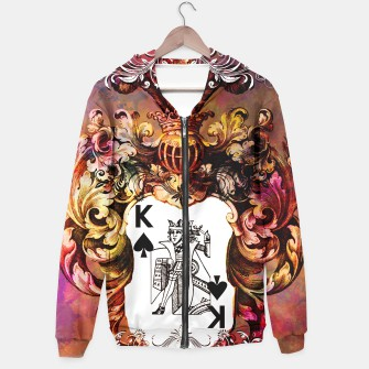 Thumbnail image of King of Poker hoodie, Live Heroes