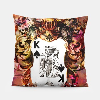 Thumbnail image of King od Poker Pillow, Live Heroes