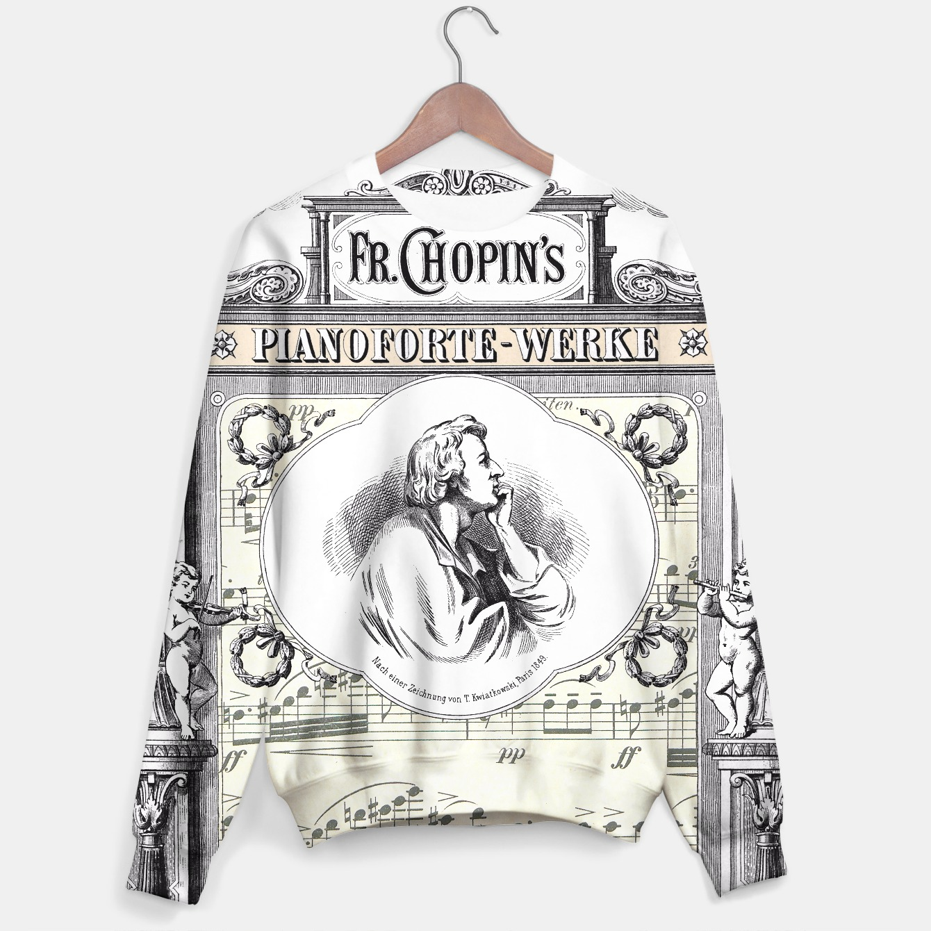 Image of Frederick Chopin sweater - Live Heroes