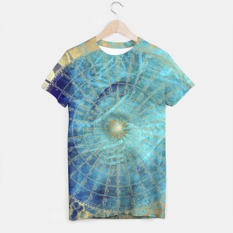 Thumbnail image of Wind Rose Map tshirt, Live Heroes