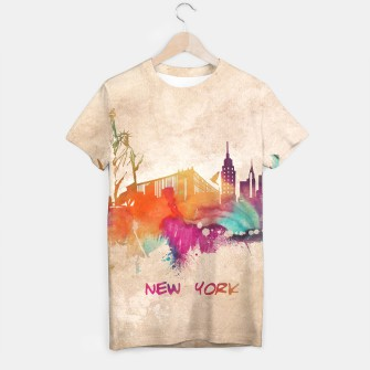 Thumbnail image of New York Tshirt, Live Heroes