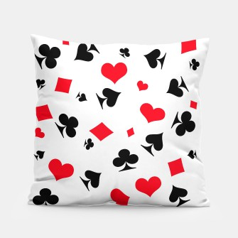 Thumbnail image of poker pillow, Live Heroes