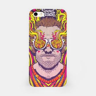 "Thumbnail image of ""Psychedelic Man"" iPhone Case, Live Heroes"