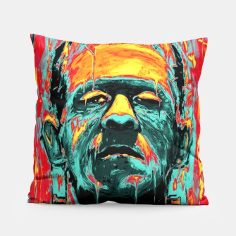 Thumbnail image of Frankenstein Pillow, Live Heroes