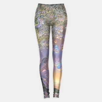 Thumbnail image of Bubble Tree Leggings, Live Heroes
