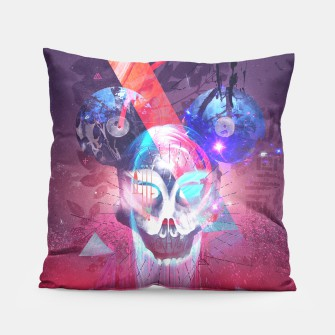 Thumbnail image of Masquerade Mouser Pillow, Live Heroes