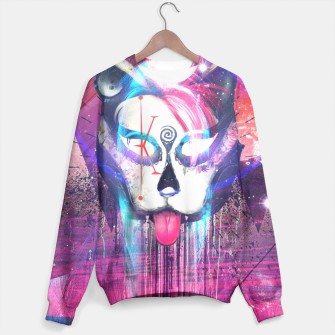 Thumbnail image of Masquerade Kitty Sweater, Live Heroes