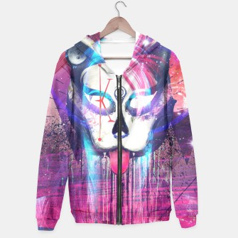 Thumbnail image of Masquerade Kitty Hoodie, Live Heroes