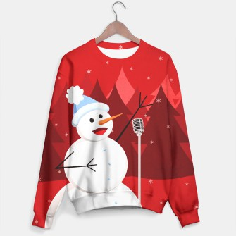 Thumbnail image of Happy Singing Snowman Sweater, Live Heroes