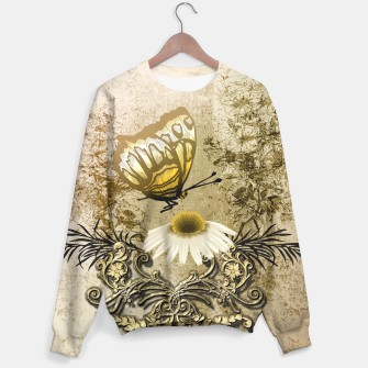 Thumbnail image of Vintage, butterfly with flower, Live Heroes