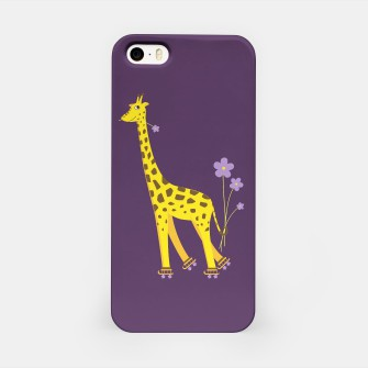 Thumbnail image of Purple Skating Giraffe Case, Live Heroes