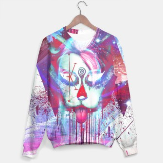 Thumbnail image of Masquerade Kitty Sweater WH, Live Heroes