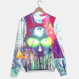 Thumbnail image of Masquerade Rabb8 Sweater WH, Live Heroes
