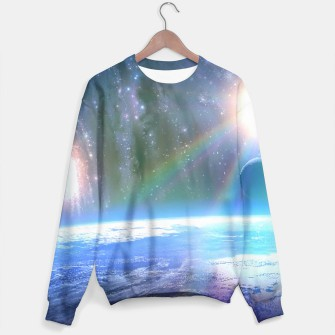 Thumbnail image of Earth from Outer space Sweater, Live Heroes