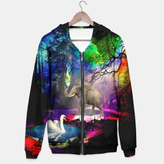 Magical forest Hoodie thumbnail image