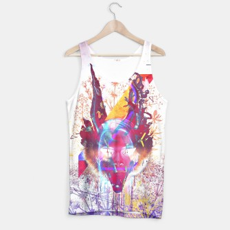 Thumbnail image of Masquerade FoXxX Tank Top WH, Live Heroes
