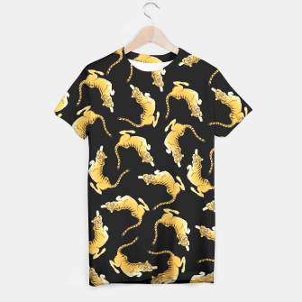 Thumbnail image of Tiger Tshirt black, Live Heroes