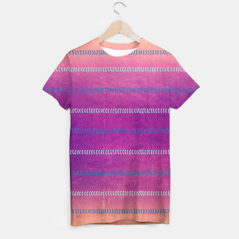 Miniaturka Micro Waves in Pink Violet T-Shirt, Live Heroes