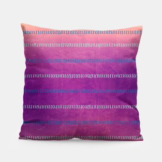 Miniaturka Micro Waves in Pink Violet Pillow, Live Heroes
