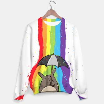 Thumbnail image of crapwaer Rainbow - Sweater, Live Heroes