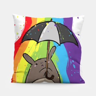 Thumbnail image of crapwaer Rainbow - Pillow, Live Heroes