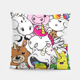 Miniature de image de crapwaer Unicorns - Pillow, Live Heroes
