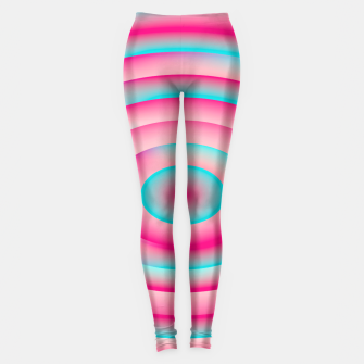 Thumbnail image of Bubble Gum Psychedelic Leggings, Live Heroes