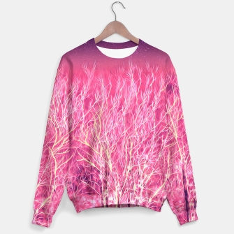 Thumbnail image of Starry Night in a Magic Forest Sweater, Live Heroes
