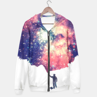Painting the universe Awsome Space Art Design Hoodie thumbnail image