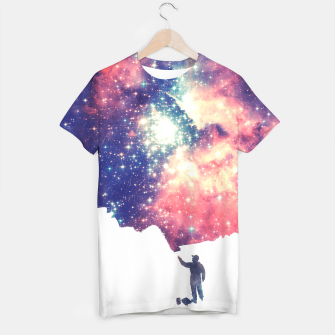 Painting the universe Awsome Space Art Design T-shirt thumbnail image