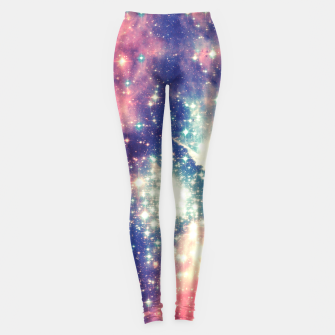 Painting the universe Awsome Space Art Design Leggings thumbnail image