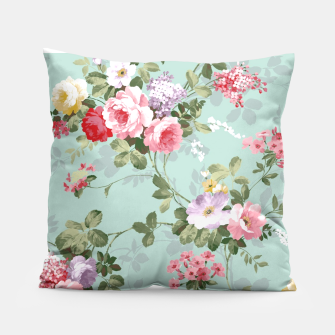 Thumbnail image of floral pillow II, Live Heroes