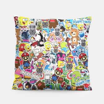 Thumbnail image of sticker Bombs III PILLOW, Live Heroes