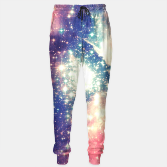 Painting the universe Awsome Space Art Design Sweatpants thumbnail image