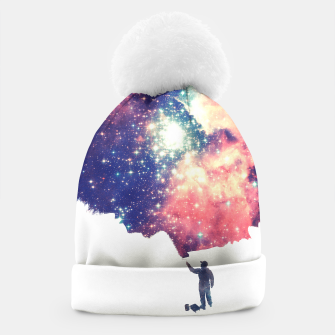 Painting the universe Awsome Space Art Design Beanie thumbnail image