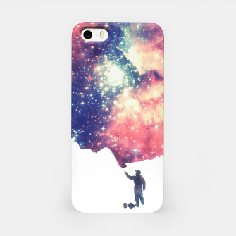 Painting the universe Awsome Space Art Design iPhone Case thumbnail image