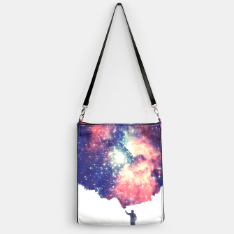Painting the universe Awsome Space Art Design Handbag thumbnail image