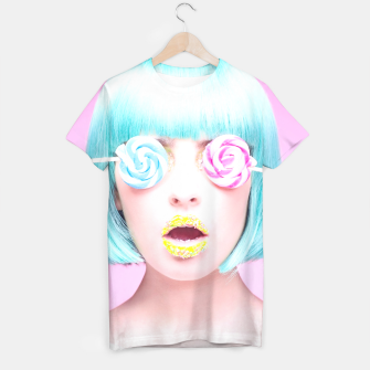Thumbnail image of candy face shirt, Live Heroes
