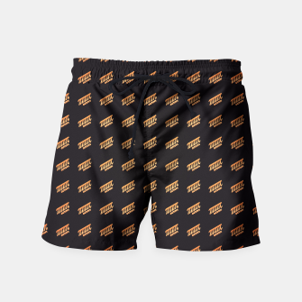 Thumbnail image of Octopi (PI) Nerd Pattern Swim Shorts, Live Heroes