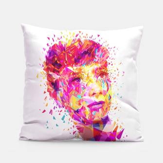 Thumbnail image of Audrey Hepburn pillow, Live Heroes