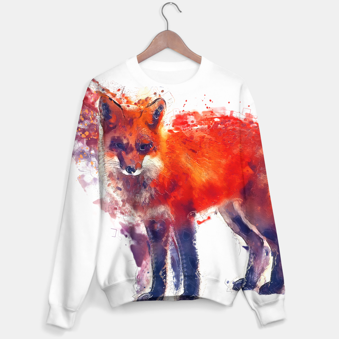 Image of Fox sweater - Live Heroes