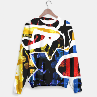 Thumbnail image of Collage Sweater white, Live Heroes