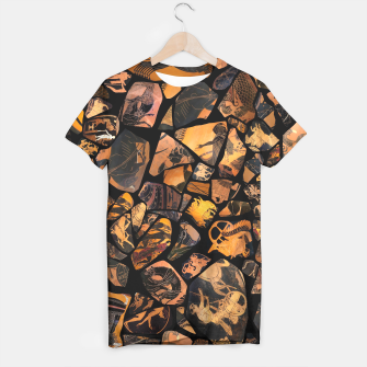 Thumbnail image of Mosaic T-Shirt black, Live Heroes