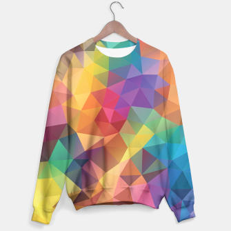 Thumbnail image of Colorful Geometric Sweater, Live Heroes