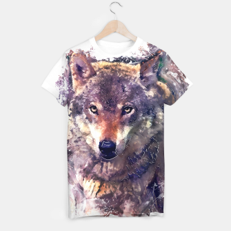 Thumbnail image of Wolf tshirt, Live Heroes
