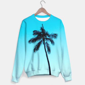 Thumbnail image of palmtree ver.skyblue Sweater, Live Heroes