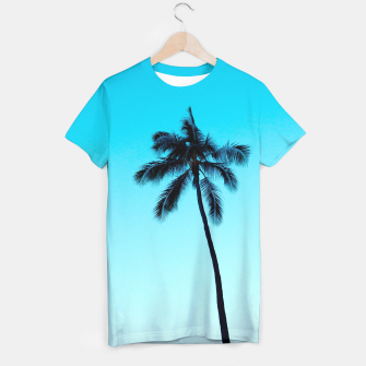 Thumbnail image of palmtree ver.skyblue T-shirt, Live Heroes